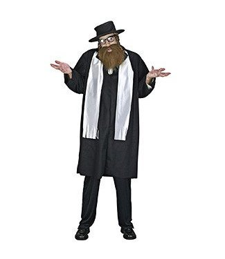 Fun World Rabbi Adult One Size