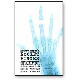 Book Pocket Finger Chopper by Andrew Mayne and Weird Things