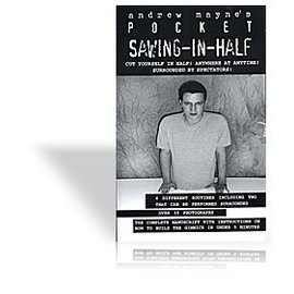Book Pocket Sawing-In-Half by Andrew Mayne and Weird Things (M7)