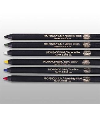 Mehron Pro Pencil Slim - Super White