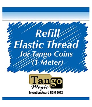 Refill Elastic Thread for Tango Coins, 1 Meter A0032 by Tango Magic