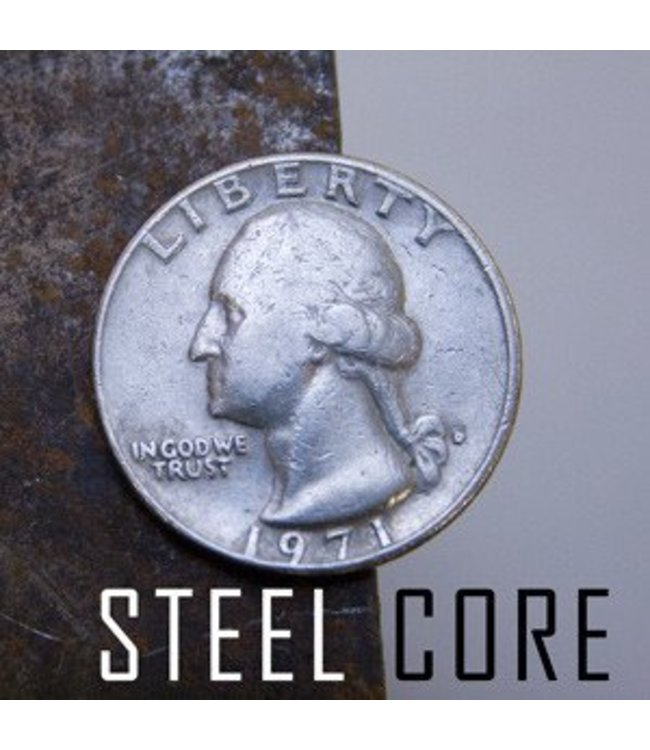 Coin Steel Core, Quarter from Chazpro Magic