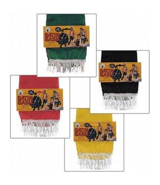 Rubies Costume Company Satin Sash Gold Yellow