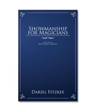Book Showmanship for Magicians by Dariel Fitzkee and Magic Box Productions