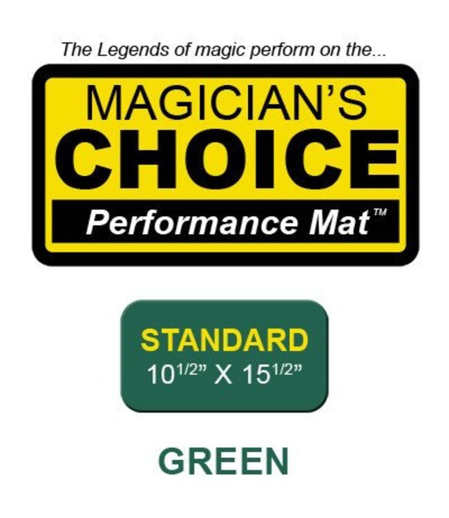 Ronjo Performance Mat Standard, Casino Green 10.5 x 15 in