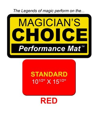 Ronjo Performance Mat Standard, Red 10.5x15.5 inch