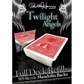 Paul Harris Presents Twilight Angels Full Deck Refill, Red Mandolin by Paul Harris (M10)