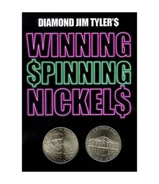 Winning Spinning Nickels (two pack) by Diamond Jim Tyler - Trick