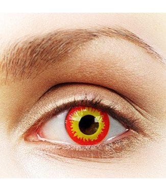Fine And Clear Wild Fire Contact Lenses