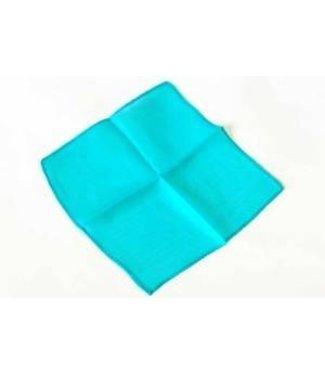Silk - 18 inch Turquoise by Vincenzo Di Fatta (M11)