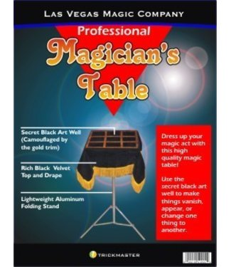 Magician's Black Art Table Top With Stand (M9)