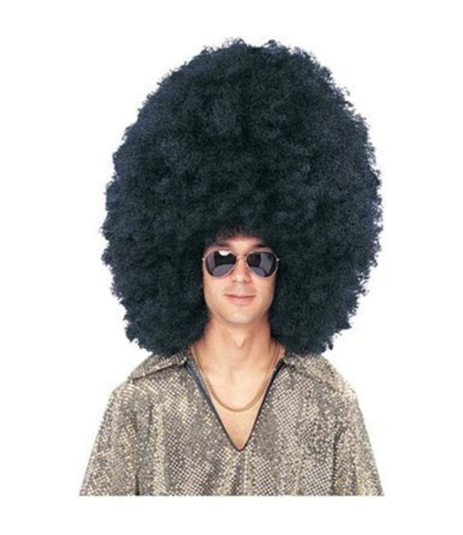 Costume Culture by Franco American Super Sized Afro Black - Wig