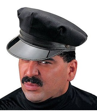 Costume Culture by Franco American Chauffeur Hat