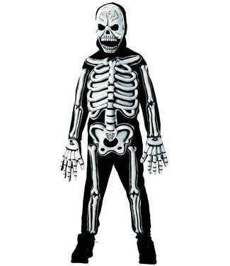 Rubies Costume Company 3-D Skeleton, Glow - Child Large 12-14