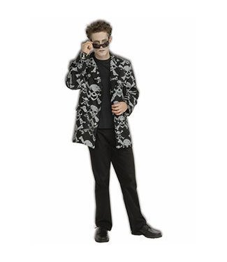 Forum Novelties Skull And Cross Bones Sports Jacket - STD