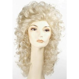 Morris Costumes and Lacey Fashions Wavy Showgirl Light Blonde Wig
