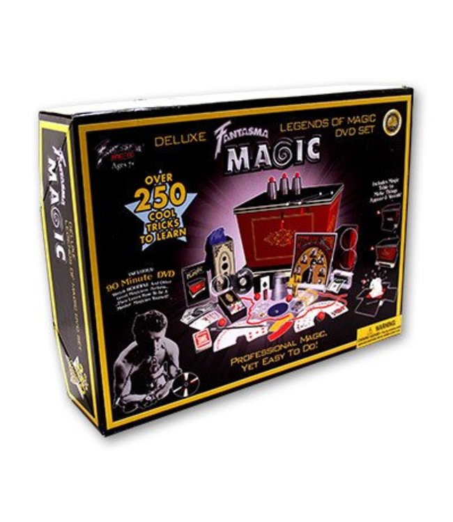 Ultimate Legends of Magic Set (With DVD) by Fantasma Toys