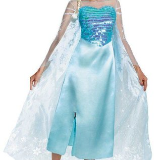 Disguise Deluxe Elsa Adult - Med 8-10