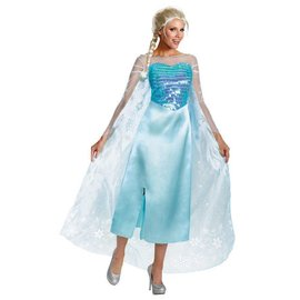 Disguise Elsa Deluxe Adult - Large 12-14