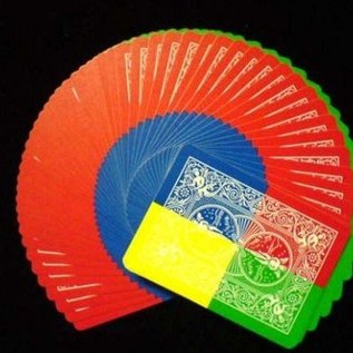Ronjo Electric Deck Deluxe - Tetra 4 Color Fanning  by Ronjo