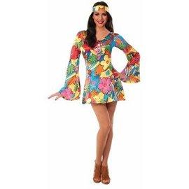 Forum Novelties Groovy Go Go Dress - Adult Med/Lrg