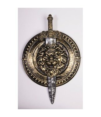 Forum Novelties Shield Set - Shield and Sword (/239)