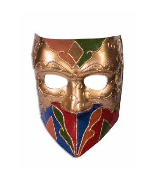 Forum Novelties Classic Jester Venetian Mask