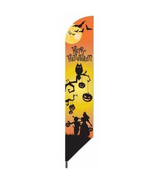 "Forum Novelties Happy Halloween Pennant Flag 7' x 3"""