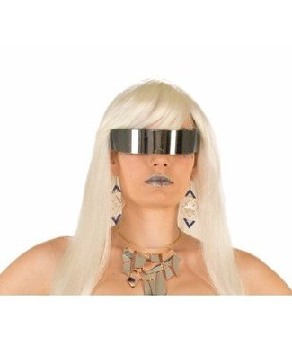 Forum Novelties Sunglasses Wraparound Mirror