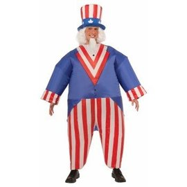 Forum Novelties Inflateable Uncle Sam - Adult One Size