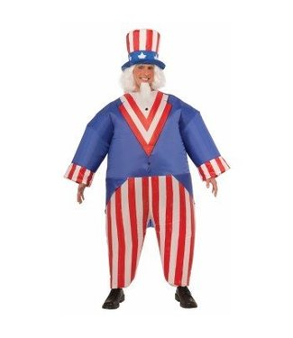 Forum Novelties Inflatable Uncle Sam - Adult One Size