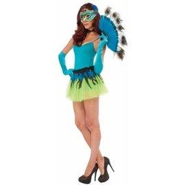 Forum Novelties Peacock Tail Fan