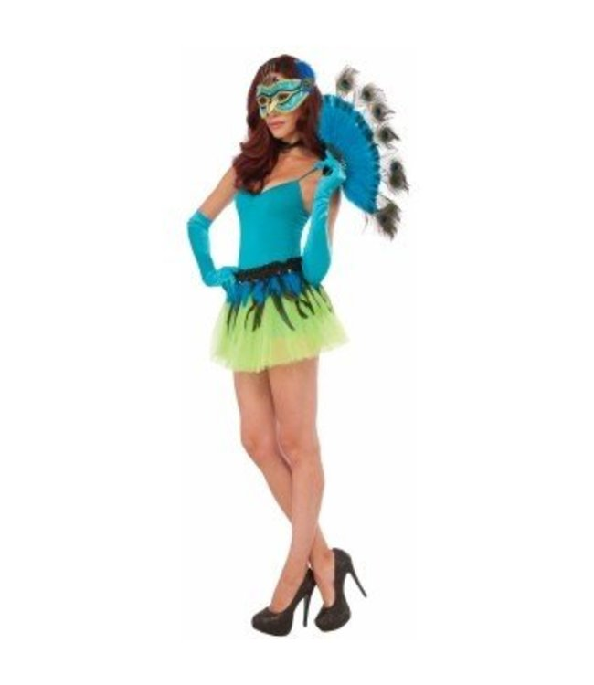 Forum Novelties Peacock Tail Fan