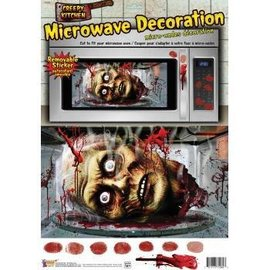 Forum Novelties Microwave Decoration Stickers - Creepy Kitchen
