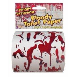 Forum Novelties Bloody Toilet Paper