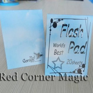 Flash Pad (White) by Red Corner Magic