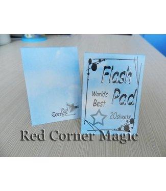 Flash Pad (White) by Red Corner Magic