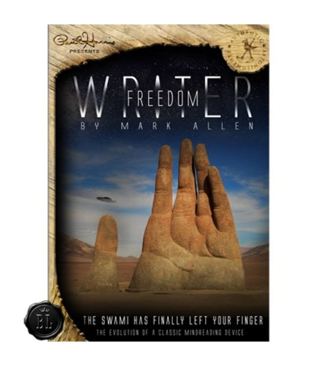 Paul Harris Presents Freedom Writer by Mark Allen - Gimmick and Online Video Instructions