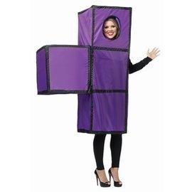 Rasta Imposta Tetris Tetrimino Purple - Adult