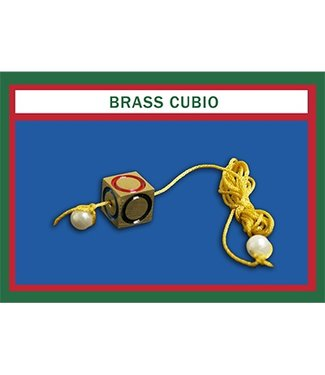 Cubio, Brass by Mr. Magic (M10)