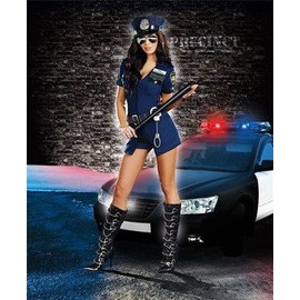 Dreamgirl Officer Sheila B. Naughty - Meduim (406)