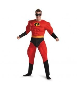 Disguise Mr. Incredible Deluxe - Adult XL 42-46