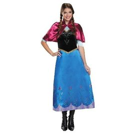 Disguise Anna Travelling Gown - Adult Small 4-6