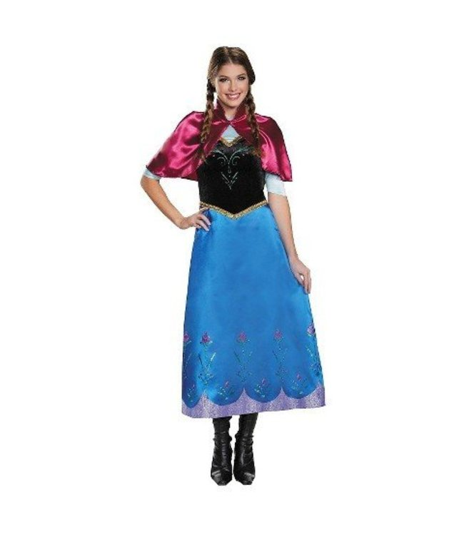 Disguise Anna Travelling Gown - Adult Med 8-10