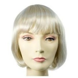Morris Costumes and Lacey Fashions Lulu Bargain, Blonde - Wig
