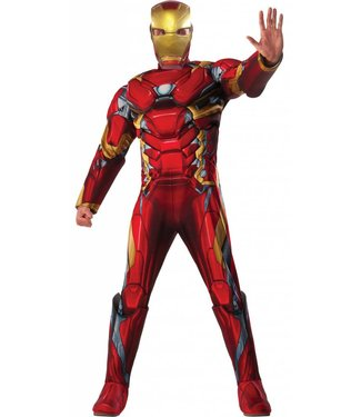 Rubies Costume Company Iron Man Deluxe - Adult  XL 44-46