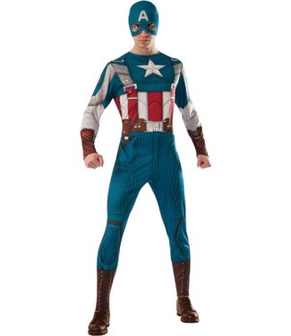 Rubies Costume Company Deluxe Muscle Chest Captain America Costume - Adult 44