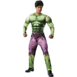 Rubies Costume Company Deluxe Adult Hulk Costume with wig - Size 44