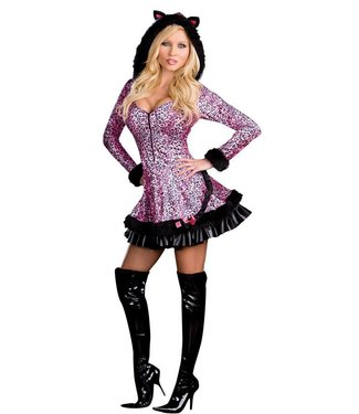 Dreamgirl International Pouncer - Adult Small 2-6