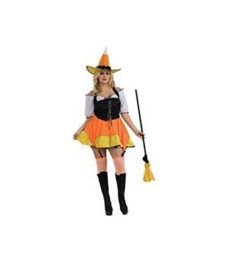Rubies Costume Company Candy Corn Witch - Plus Size 14-16